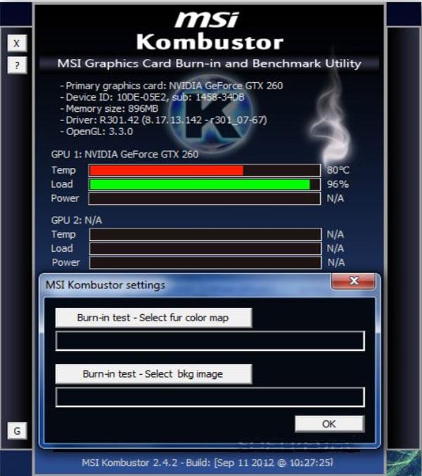 MSI Kombustor free download latest version