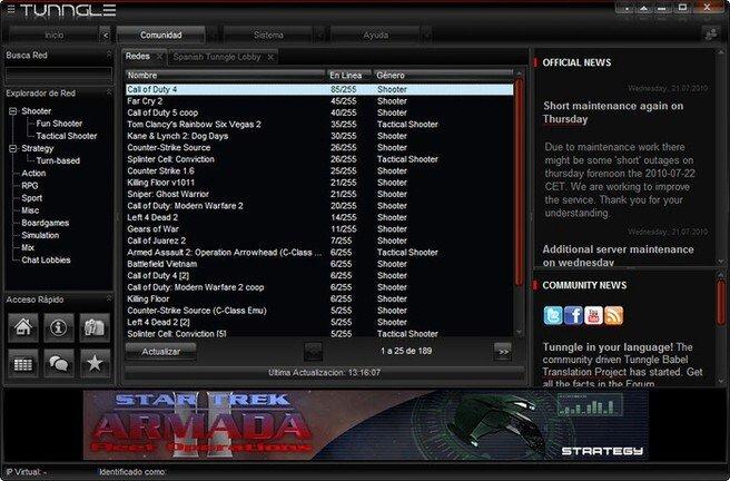 Tunngle Download Screenshot