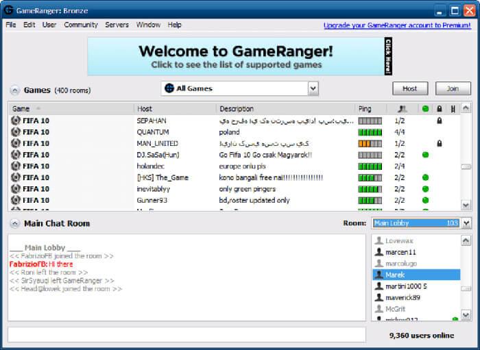 Download gameranger to play Minecraft